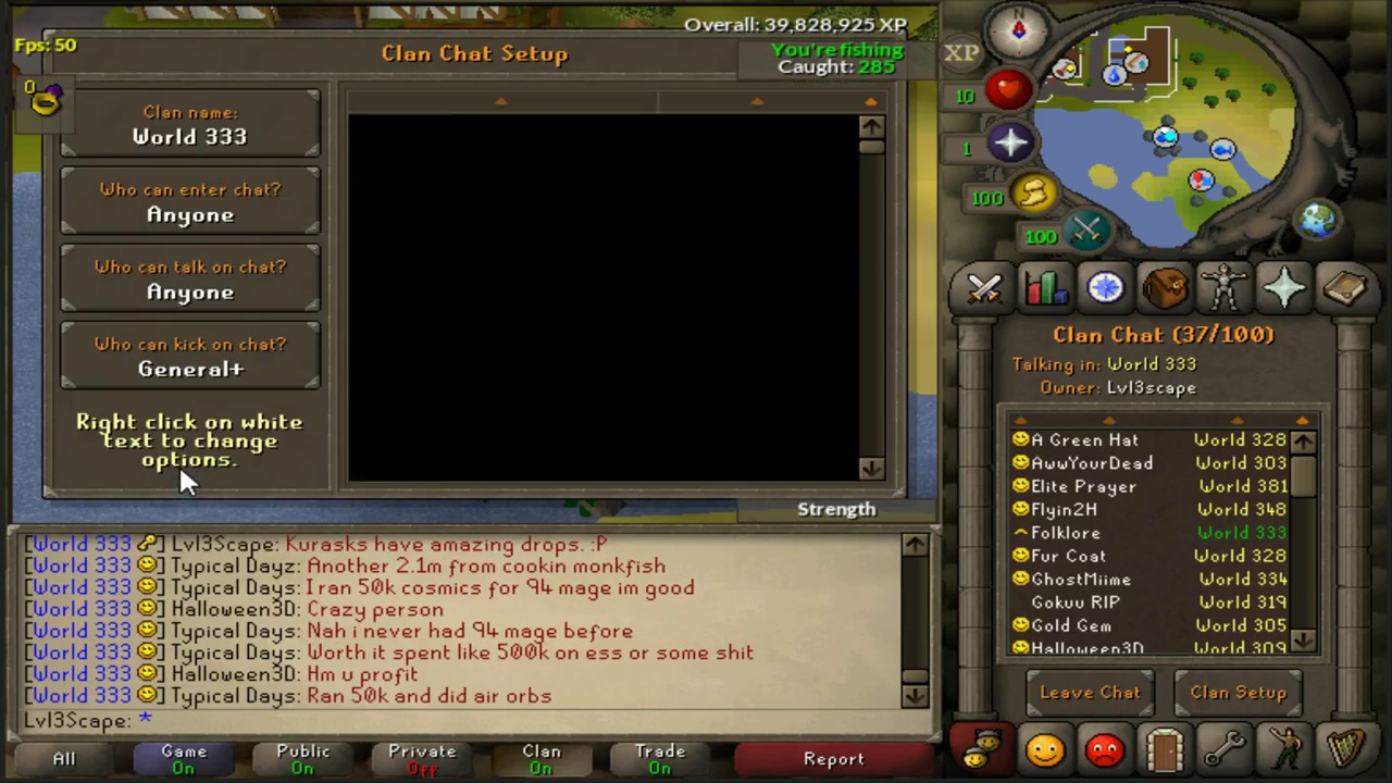 How To :): osrs clan chats