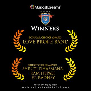Nepali Band wins first season of Indian Band League