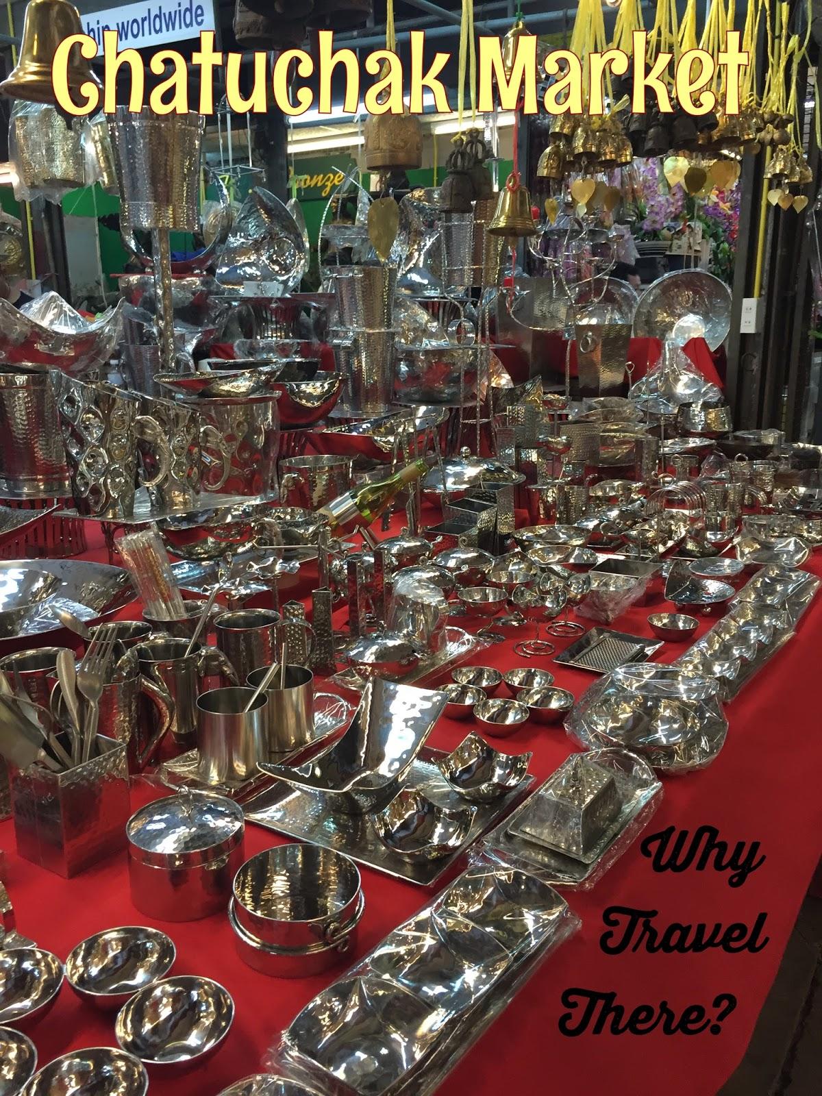 Ke Bangkok, Wajib Belanja di Chatuchak Weekend Market ...