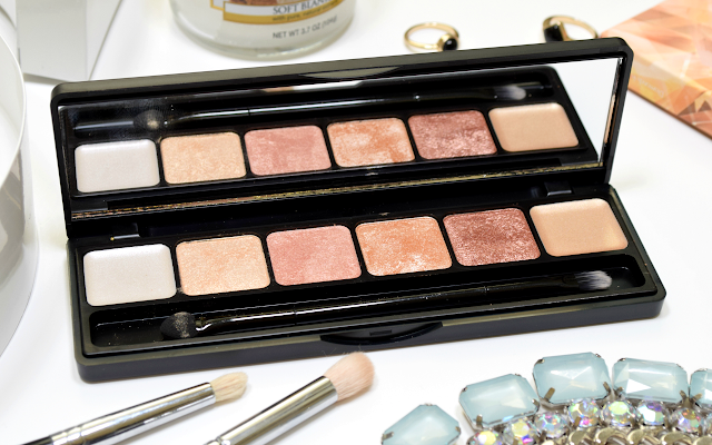 Sleek MakeUP Rockstars Collection Review i-Lust Eyeshadow Palette Diamonds in the Rough