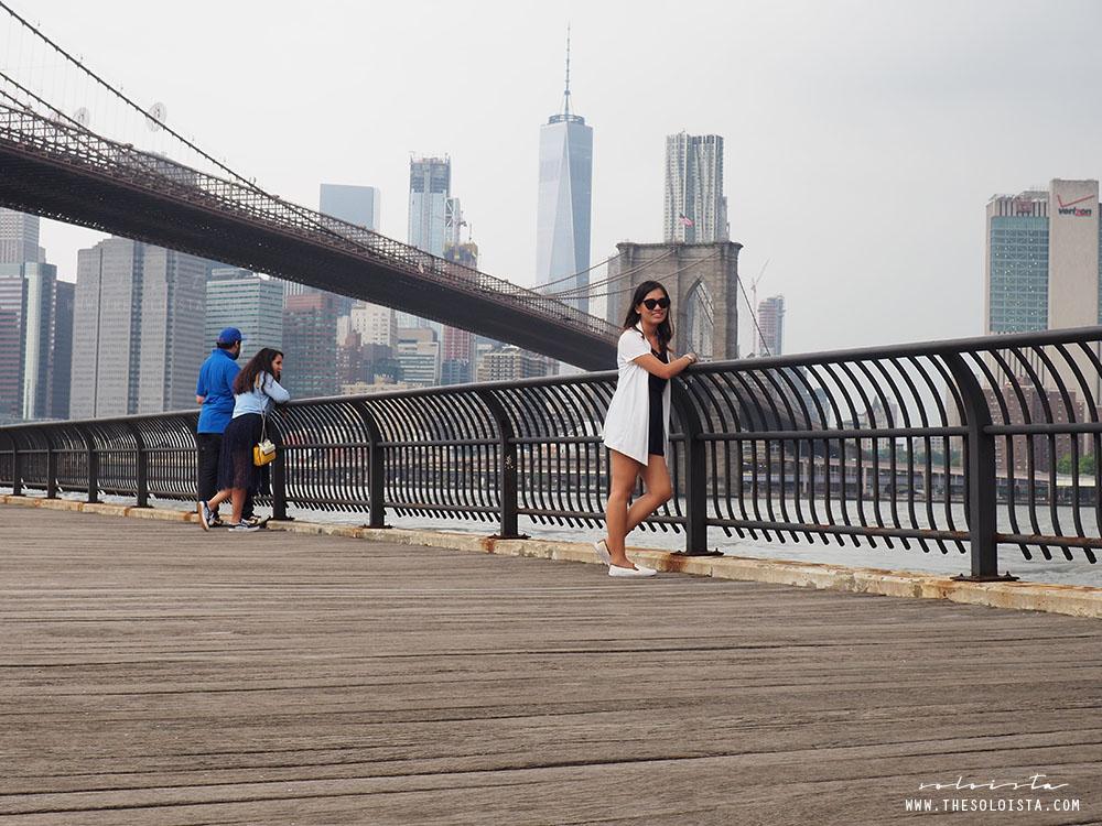 DUMBO; Brooklyn Bridge