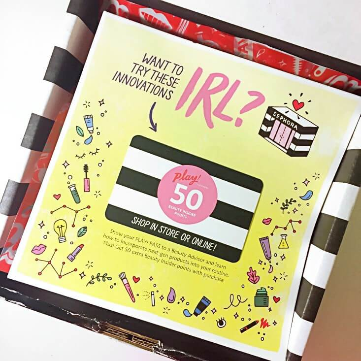 Play! by Sephora September 2018 review
