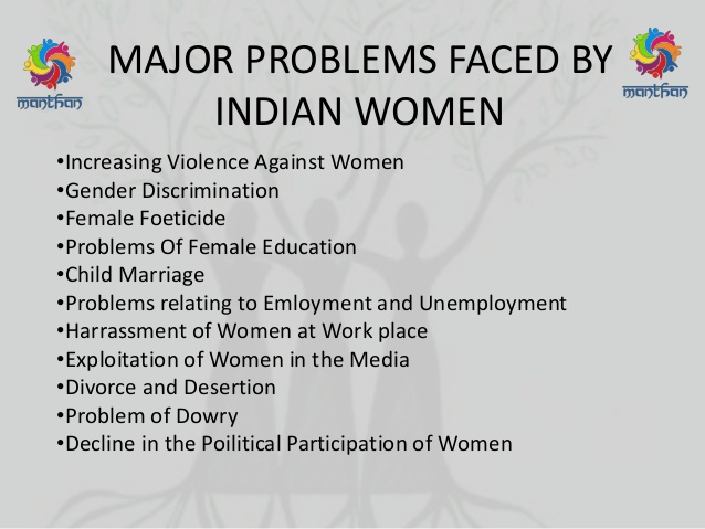 problems of women