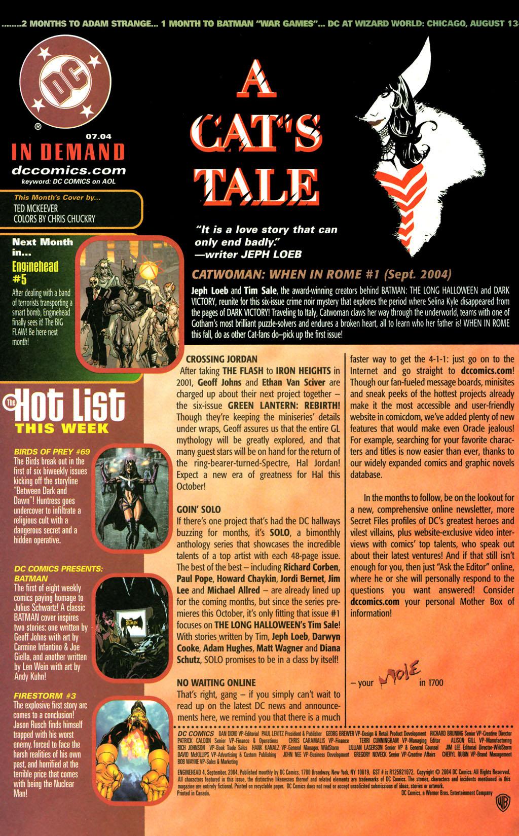 Read online Enginehead comic -  Issue #4 - 24