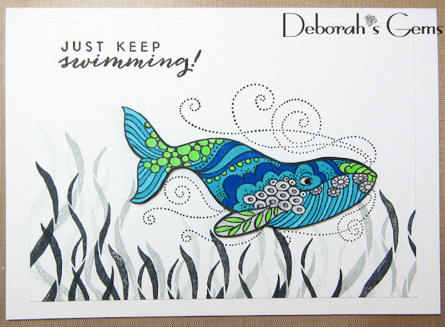 Swimming - photo by Deborah Frings - Deborah's Gems