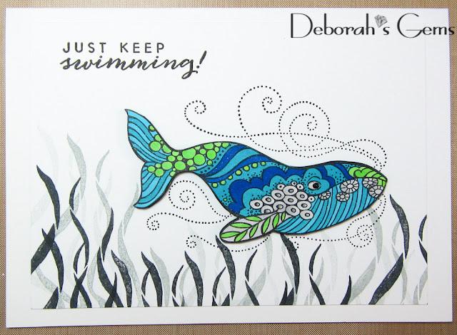 Swimming - photo by Deborah Frings - Deborah's Gems
