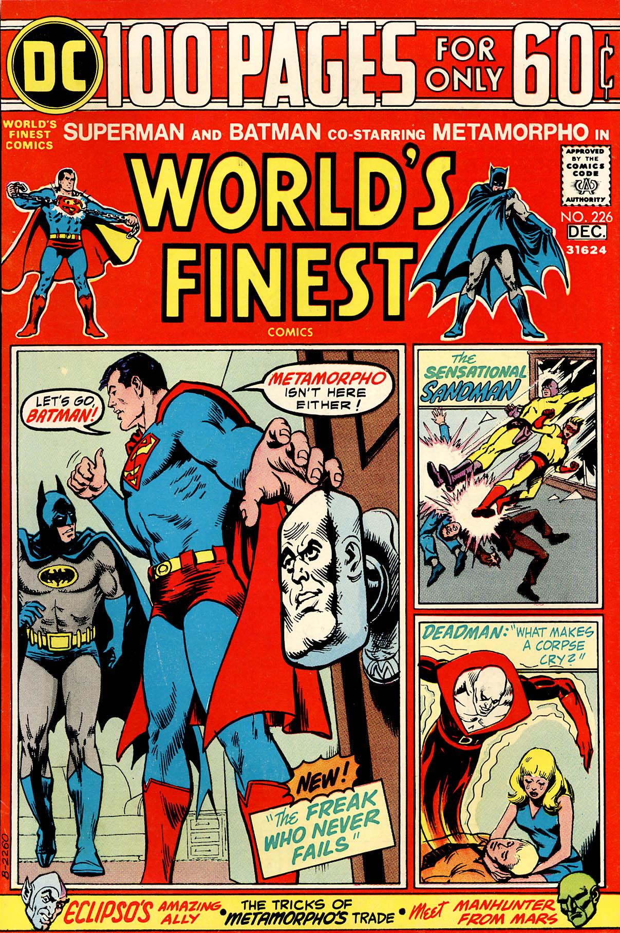 Read online World's Finest Comics comic -  Issue #226 - 1