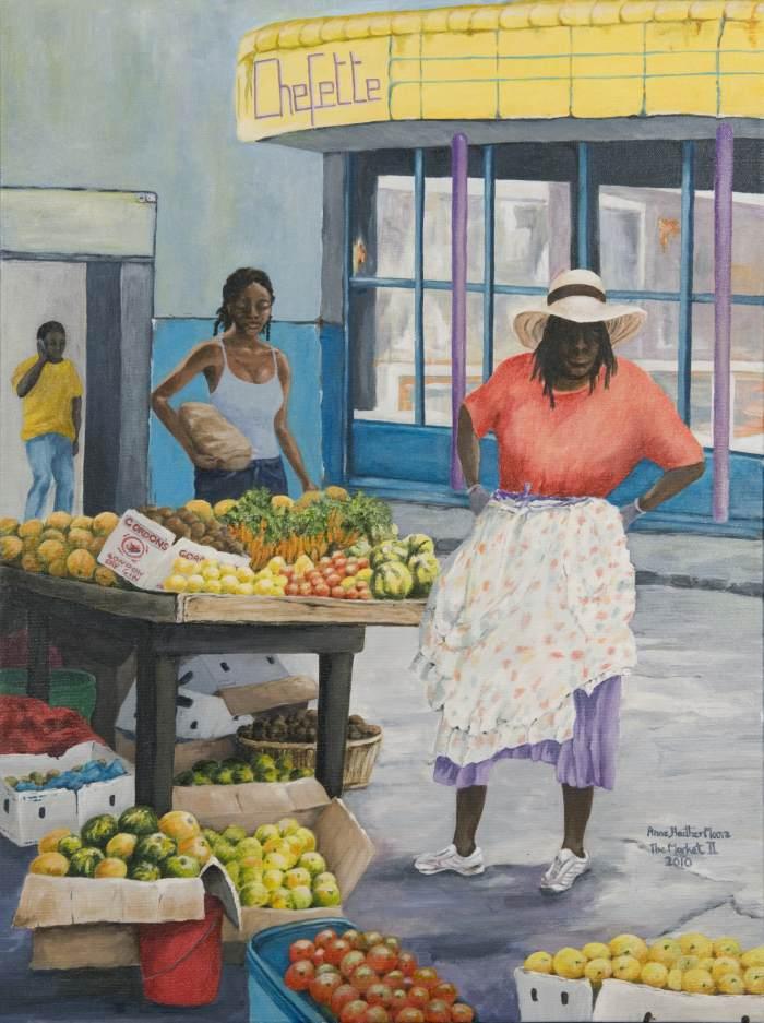 Движение, цвет и свет. Anne Moore