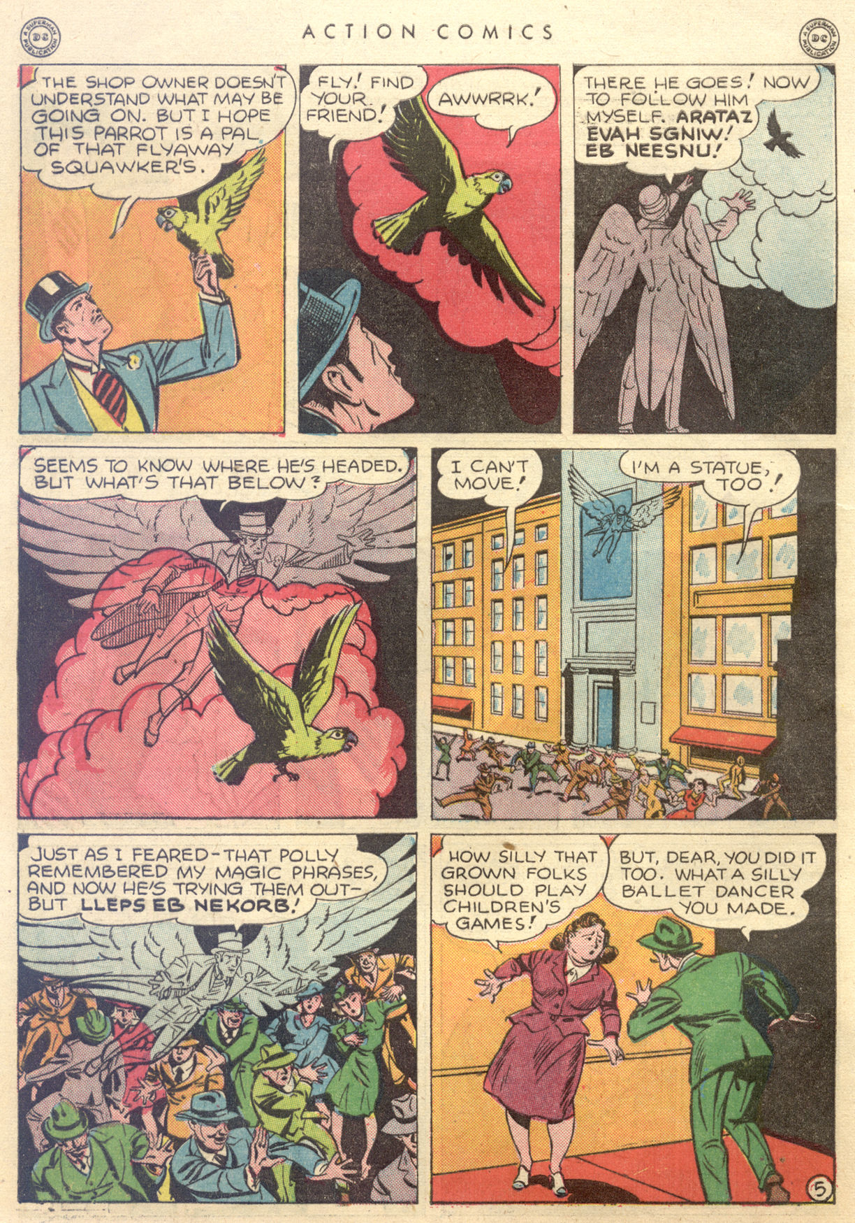 Read online Action Comics (1938) comic -  Issue #88 - 46