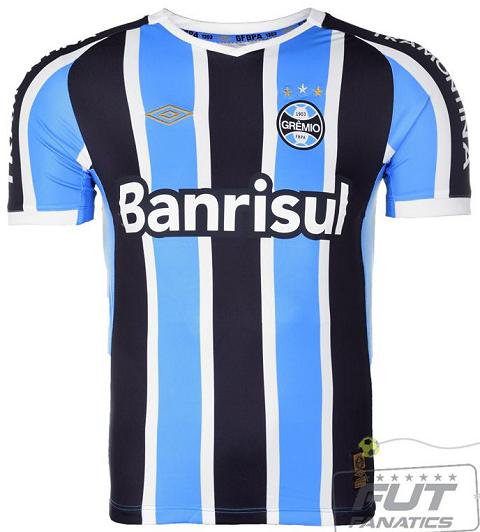 c91a66e462 Umbro é a nova fornecedora de uniformes do Grêmio - Show de Camisas