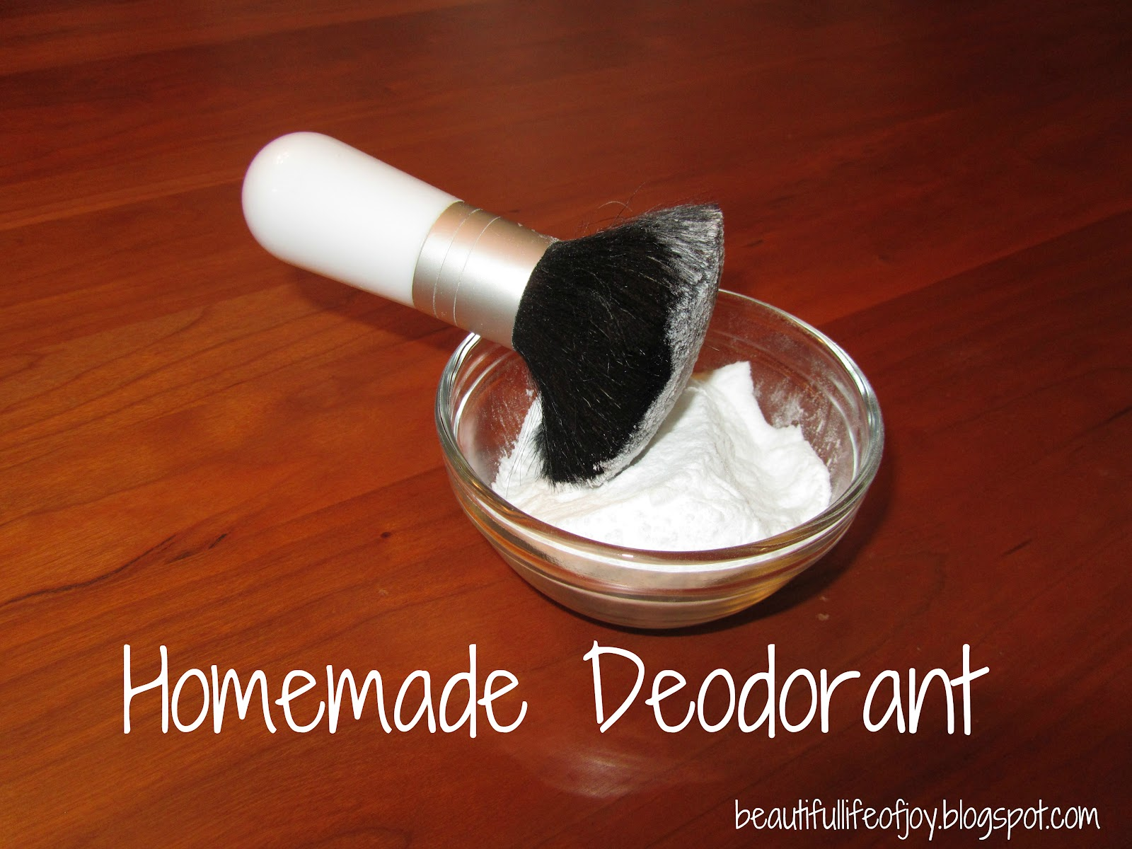 Easy, Natural, Homemade Deodorant