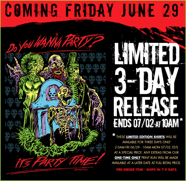 THE B-MOVIE NEWS VAULT: FRIGHT-RAGS' June Prevues of Coming