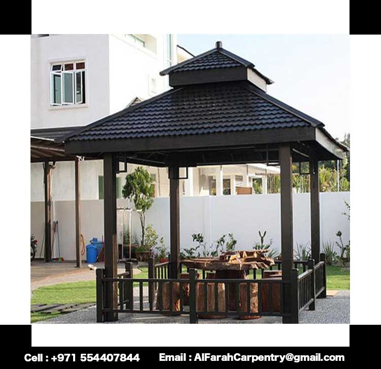 Wooden Gazebo Garden Gazebo In Uae Cabanas Gazebo Uae
