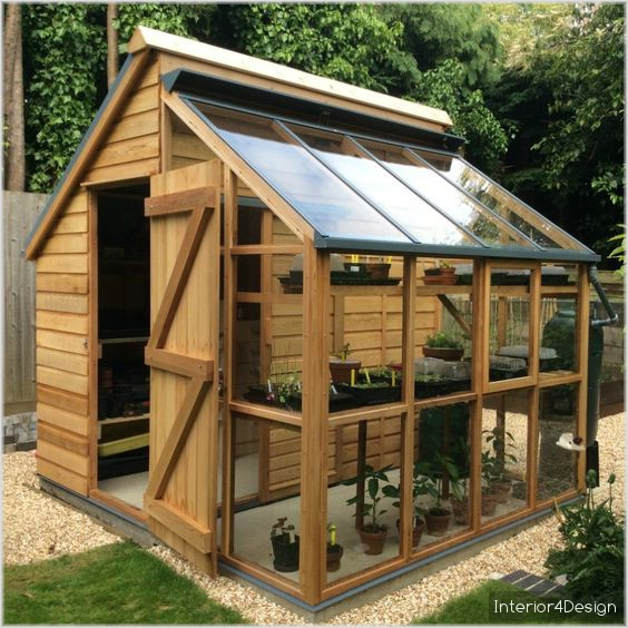 8 Functional Greenhouses Beside Your House DIY 6