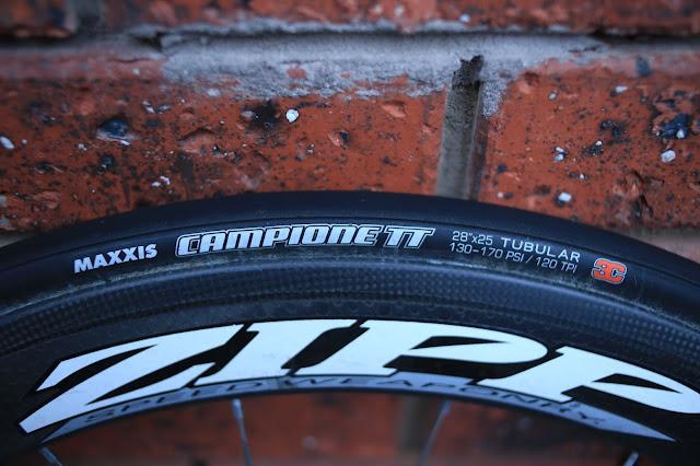 Maxxis Campione TT 25mm tubular road bike tires