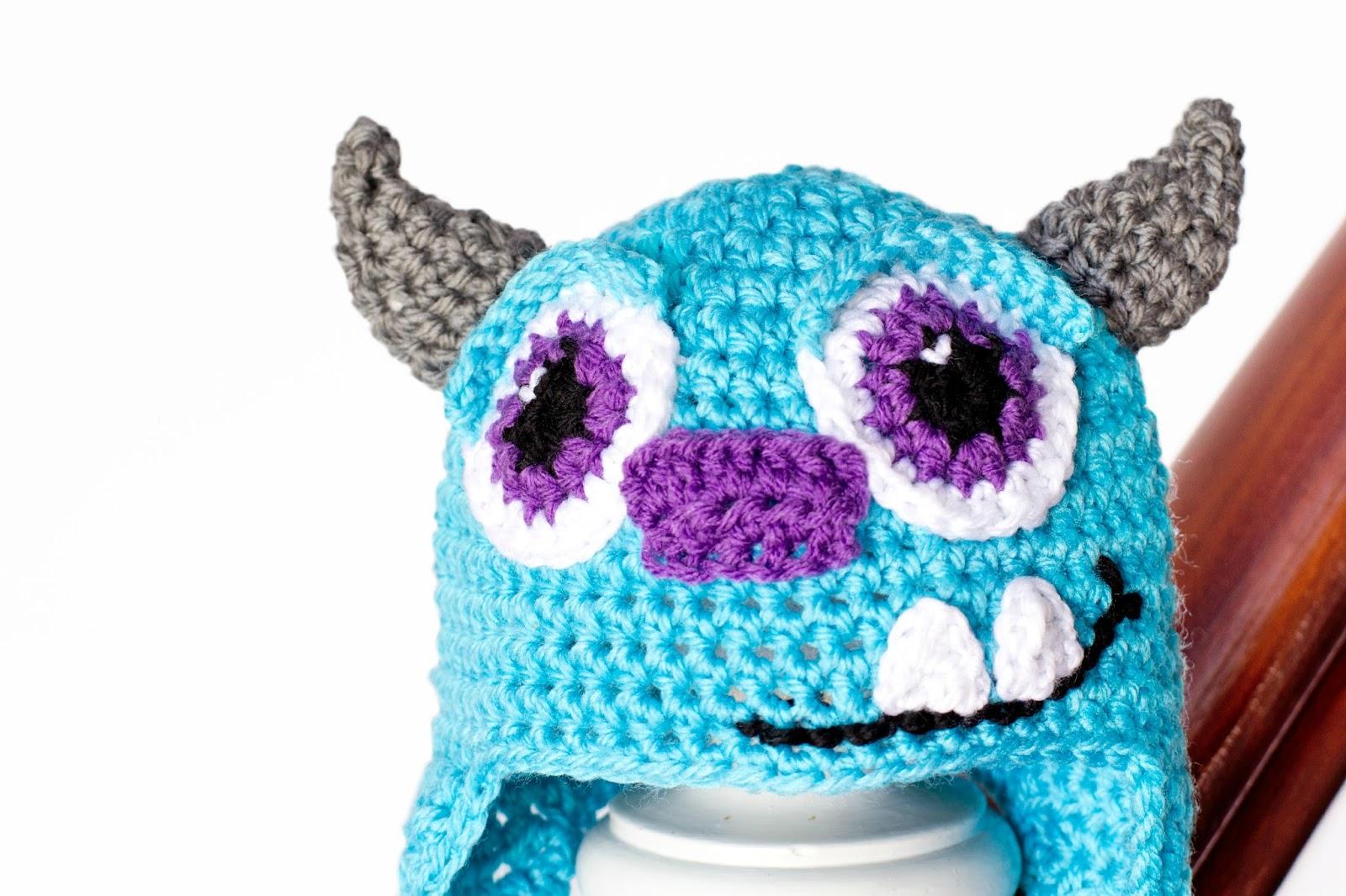 Free Crochet Patterns For Monster Hats ~ Pakbit for .