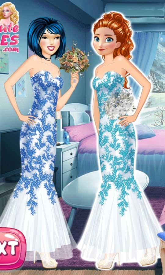 games princess winter wedding ideas