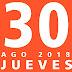 AGENDA JUEVES 30AGO 2018