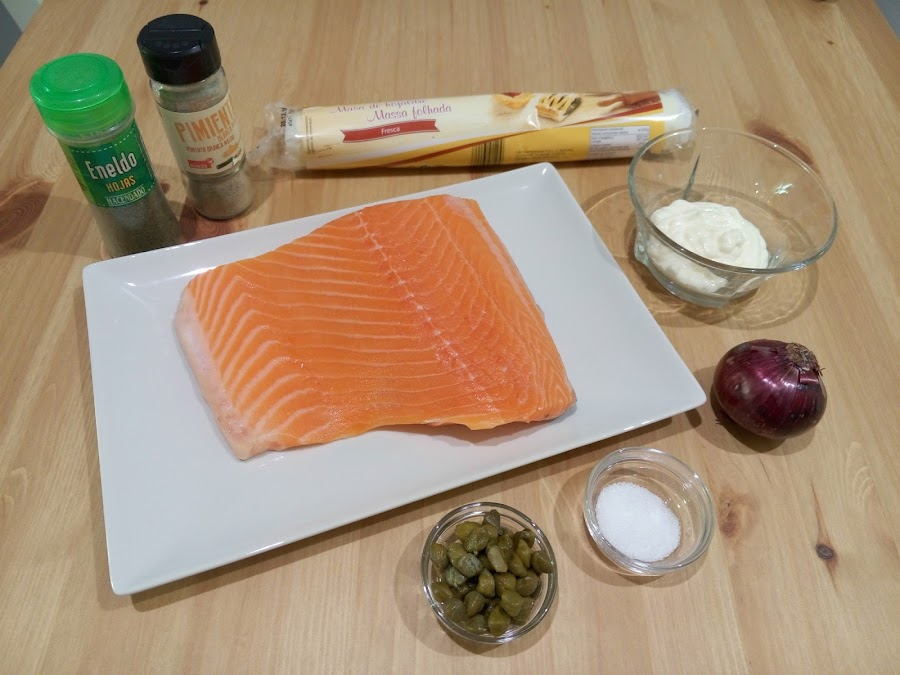 Ingredientes-para-hacer-hojaldre-de-salmon