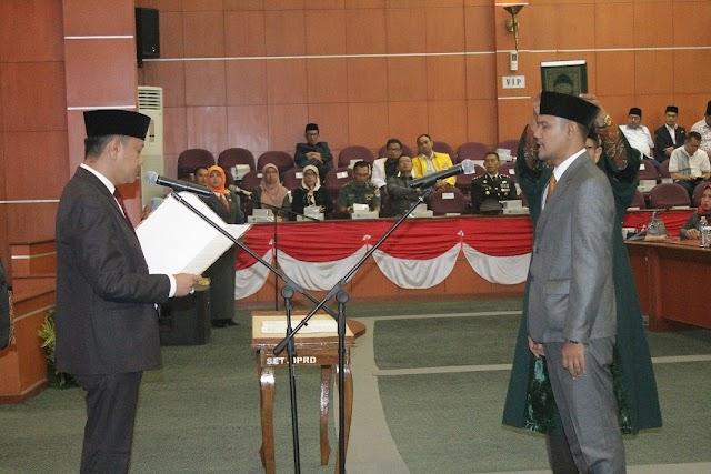 HTA Lantik Rudi Setiawan Jadi Anggota DPRD Kota Depok
