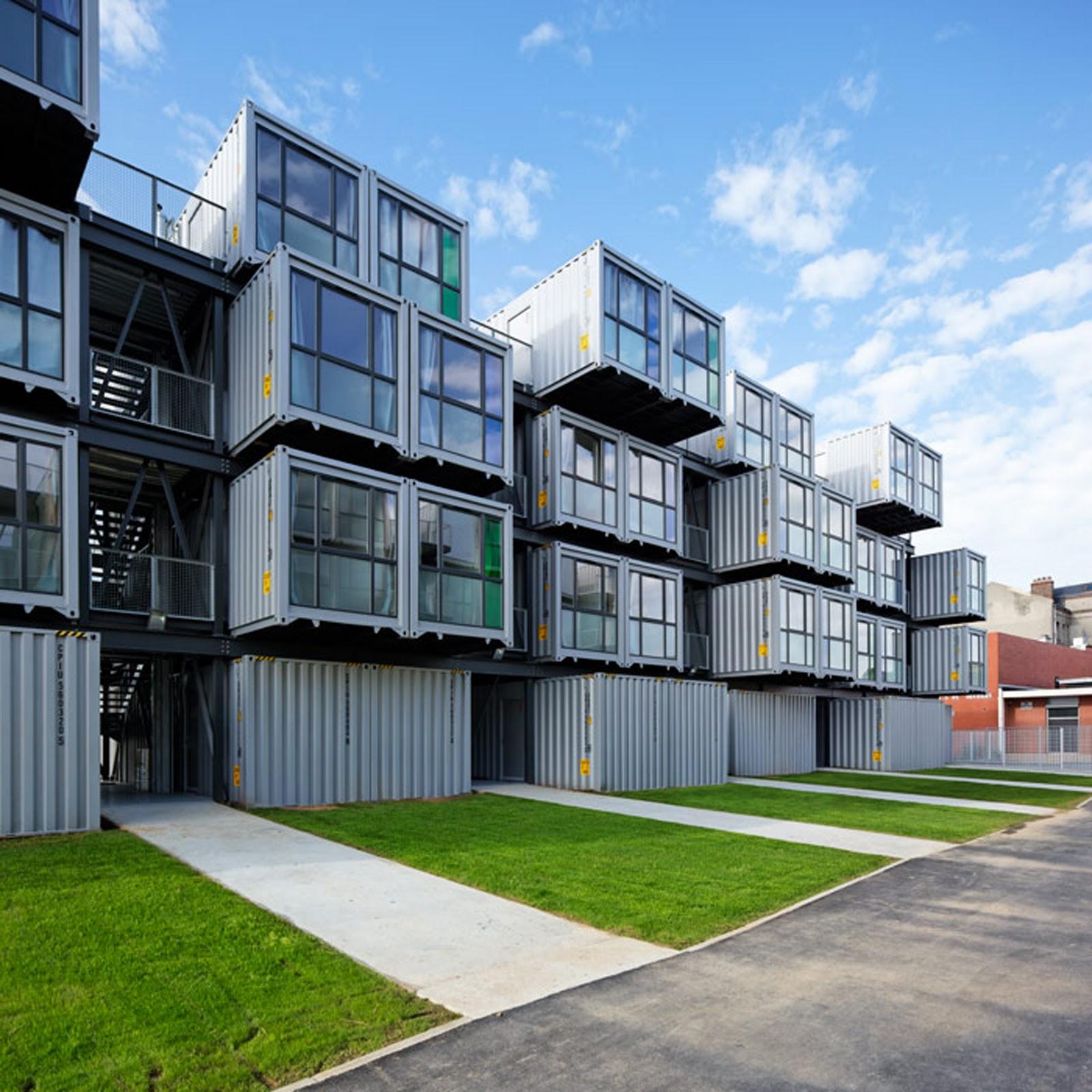 storage container apartments