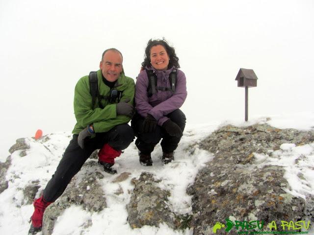 Ruta a la Barragana: Cima y buzón en la Barragana