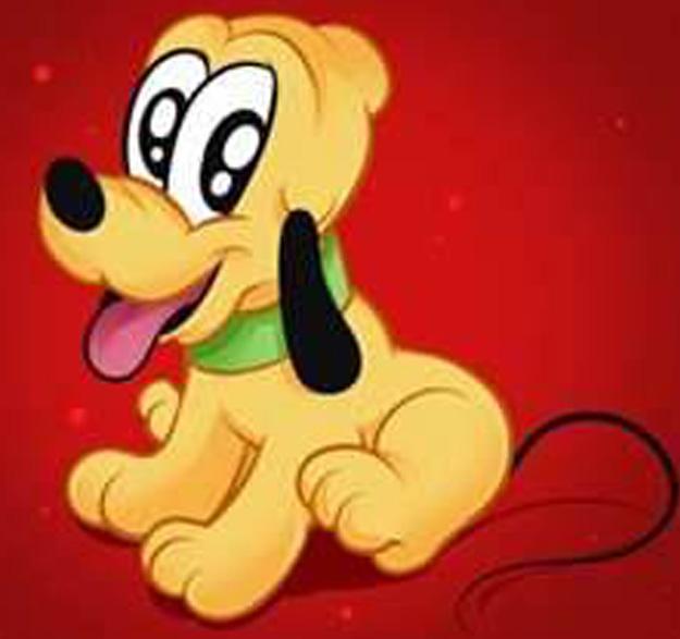Walt Disney World 8 Free Disney Animal Characters Baby Pluto