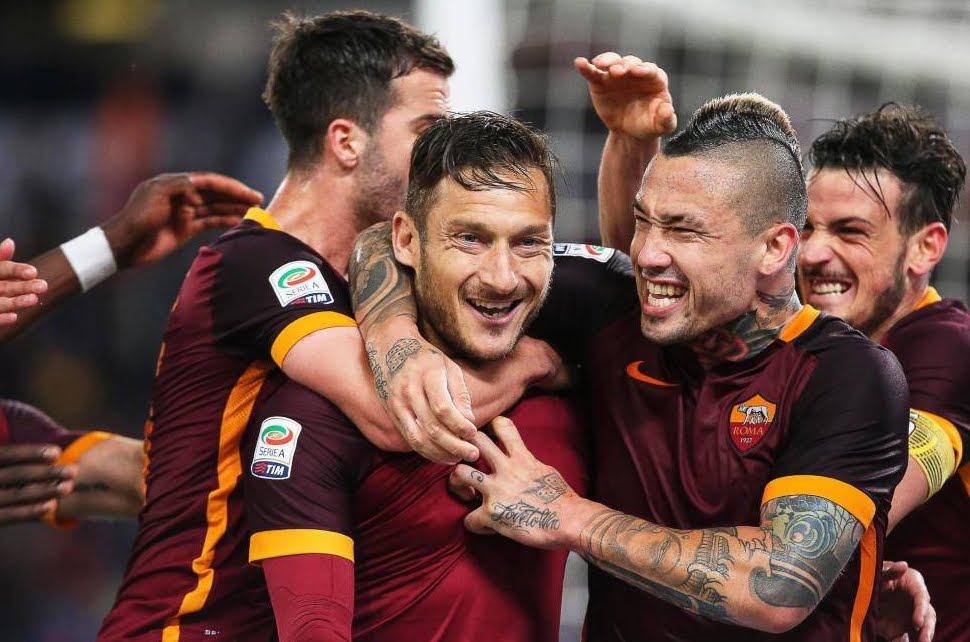 ROMA-TORINO 3-2 Video: entra Totti e segna due gol. Spalletti non essere tirchio e fallo giocare di più