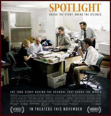 Spotlight (2015) poster