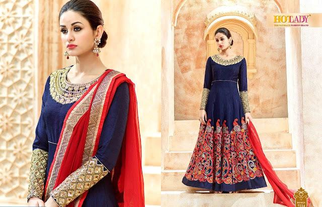 Buy Online Raksha Bandhan Special Designer Anarkali Salwar Suit
