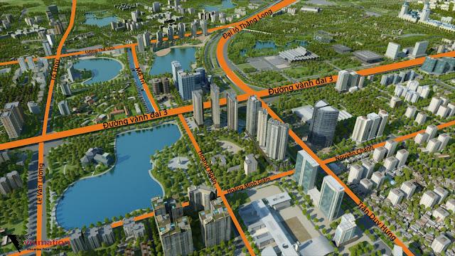 Vị trí đắc địa tại dự án chung cư DCapitale Trần Duy Hưng