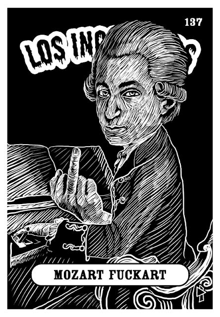 Gwen Tomahawk Los Incognitos Mozart Fuck Art
