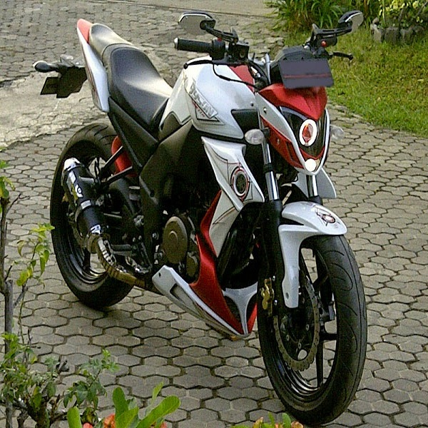 modifikasi motor byson street fighter modifikasi motor byson jadi