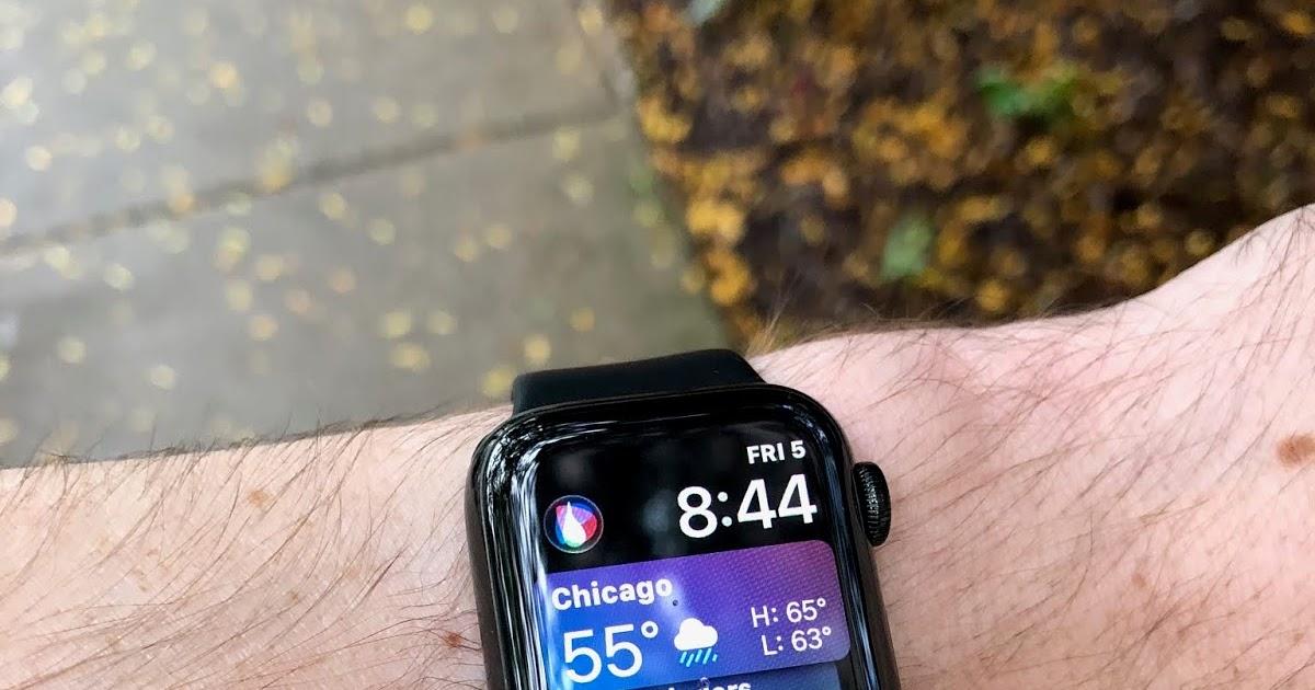 Road Trail Run: Apple Watch Series 4: A Runner's Review