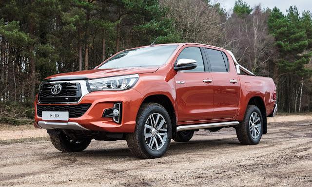 New Toyota Tacoma >> Diario Automotor: Toyota Hilux 2019...Se presentó en Argentina.
