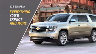 Introducing the all-new 2015 Chevrolet Tahoe full-size SUV