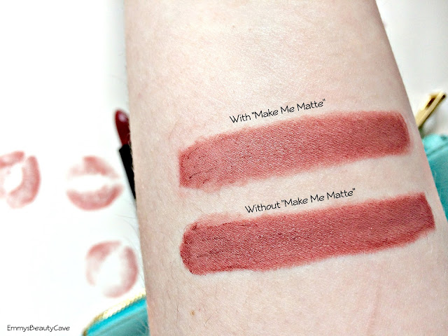 Saturated Colour 1st Base Lipstick swatches