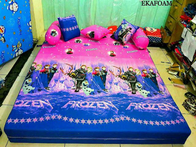 SOFA BED INOAC MOTIF FROZEN PING POSISI KASUR INOAC