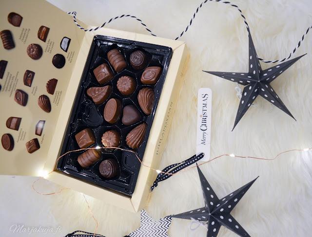 panda suklaa joulusuklaa joulupöydän konvehti