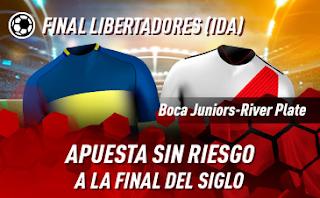 sportium Final Libertadores Ida Boca vs River 10 noviembre