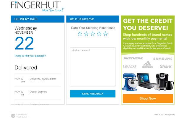 Can Fingerhut Build Credit? : Fingerhut Review Fingerhut shipping polybag