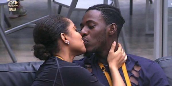 Soma, Gifty share deep kiss in #BBNaija Watch Video