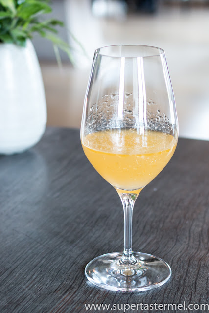 noma juice pairing Elderflower Kombucha.