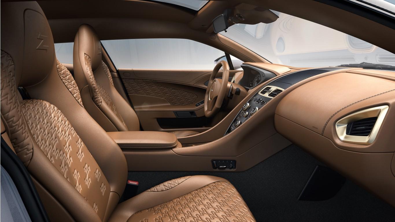 Aston Martin Vanquish Zagato Shooting Brake 2019 4k Interior Wallpaper