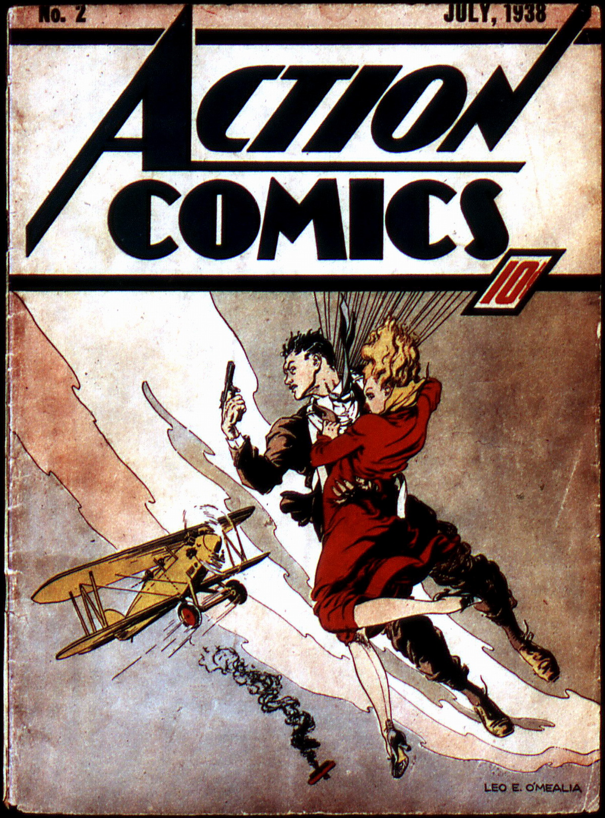 Read online Action Comics (1938) comic -  Issue #2 - 1