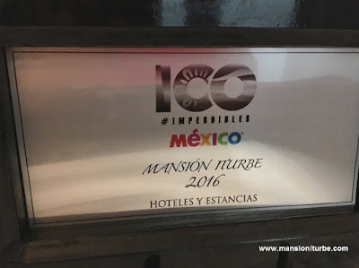 100 Must in Mexico 2016, Hotel Mansion Iturbe