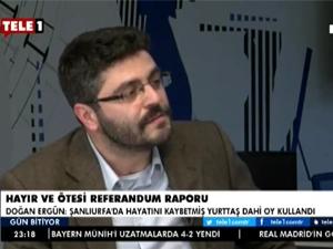 akademi dergisi, Mehmet Fahri Sertkaya, doğan ergün, tele1, gün bitiyor, ece zereycan, referandum, mühürsüz oy, başkanlık, oy, Fethullah Gülen, akp'nin gerçek yüzü,