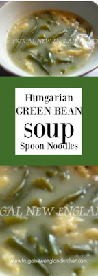 Green Bean Soup Recipe with Spoon Noodles