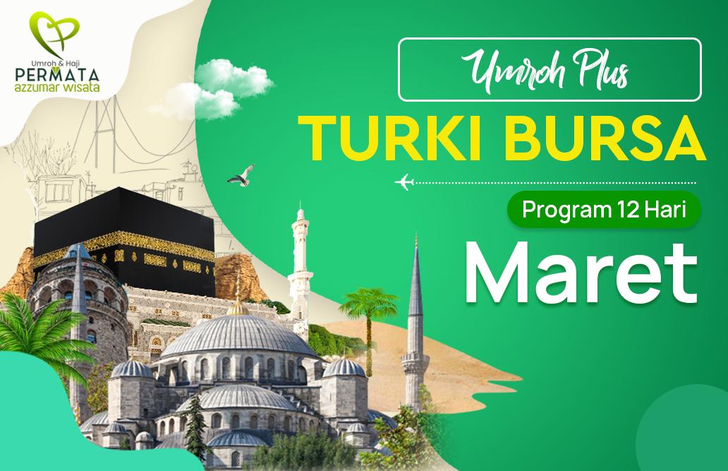 Promo Paket Umroh plus turki Biaya Murah Jadwal Bulan Maret 2020