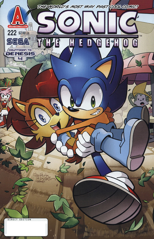 Read online Sonic The Hedgehog comic -  Issue #222 - 1